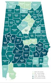 Alabama State Map Alabama Is 6th Poorest State In Nation Poverty Rate At 40 Percent