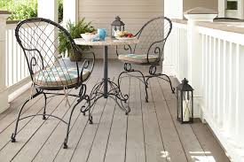Spring Chairs Patio Furniture Jaclyn Smith Cherry Valley Bistro Motion Chairs 2pk Outdoor
