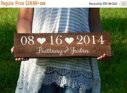 save the date signs sale extended wedding date sign wooden wedding name sign save