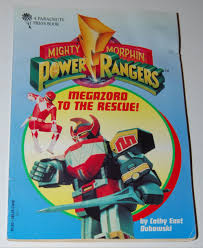 mighty morphin power ranger books lost u0026 vintage toys