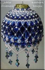 671 best beaded ornaments images on beaded