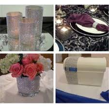 mesh ribbon table decorations glowing wedding table decorations super bright led light in laser