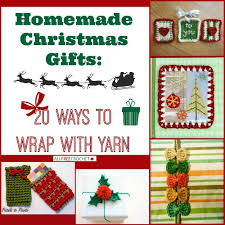 homemade christmas gifts 20 ways to wrap with yarn