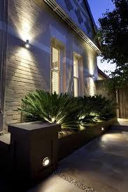 wonderful wall garden lights outside lights trendy outside lights