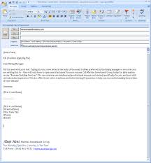 good examples of email cover letters for resumes 63 in cover
