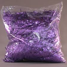 foil shreds mylar shred purple 8oz 1ct party value