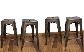 bar stools pinnadel pub height bar stool backless counter stools