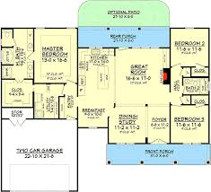 Architectural House Plans And Designs 3 Bedrooms And Porches Front And Back 11782hz Architectural