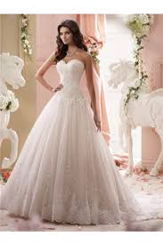 dropped waist wedding dress gown strapless drop waist tulle lace wedding dress with buttons
