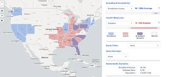 National Broadband Map Fcc Launches Mapping Tool To Explore Link Between Health