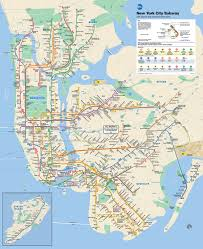 map in mta info mta subway map