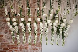 wedding altar backdrop flowers by lace and lilies flower installment altar flowers