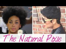 twa pixie on long hair creating the natural hair pixie cut youtube