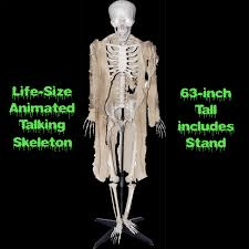 cheap spooky talking giant corn stalker animated halloween haunted
