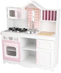 amazon cuisine enfant kidkraft cuisine enfant en bois modern country amazon fr jeux et