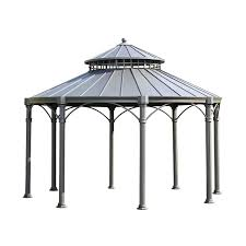 For Living Gazebo Cover by Mulford Hardtop Gazebo Sam U0027s Club Home Outdoors Porches