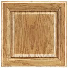 shop shenandoah bluemont 12 875 in x 13 in honey oak raised panel