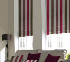Thermal Lined Roman Blinds Window Blinds Avenue Blinds And Curtains Showroom In Bridgwater