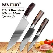 ebay kitchen knives xituo best 3 pcs kitchen knives sets japanese damascus steel