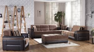 Easy Upholstery Moon Sectional Sofa Sleeper Easy To Access Hidden Storage Rust And