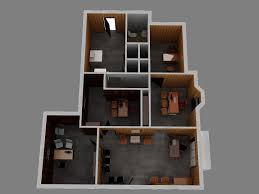 3d woodshop floor plan cgtrader