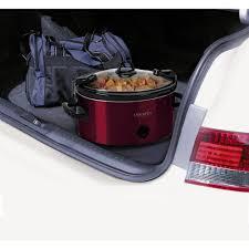 crock pot 6 quart cook u0026 carry manual slow cooker sccpvl600 r