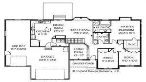 Ranch Style Home Plans With Basement 1717sf Ranch House Plan Wgarage On Basement Floor Plans For Ranch