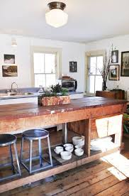 apartment therapy kitchen island get the look adding rustic farmhouse style to any room island