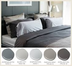 layer shades of gray in the bedroom for a comfortably masculine