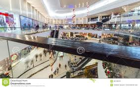 people in a hurry for christmas gifts at the mall plaza shymkent
