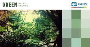 green paint colors ppg paints