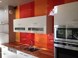 credence cuisine plexiglas crédence plexiglas cuisine best credence cuisine orange