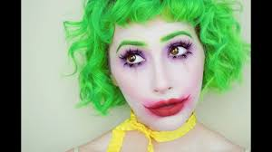joker halloween makeup tutorial youtube
