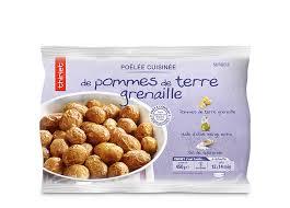 comment cuisiner les pommes de terre grenaille poêlée cuisinée de pommes de terre grenaille surgelé gamme