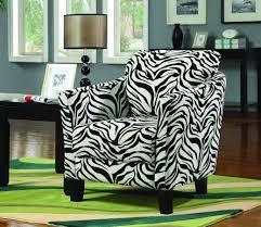 furniture 37 zebra accent chairs in short legs high back