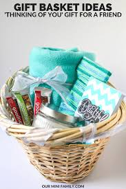 thinking of you gift baskets our mini family thinking of you gift basket