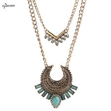 necklace online store images Buy multi layered necklace hippie indian native jpg