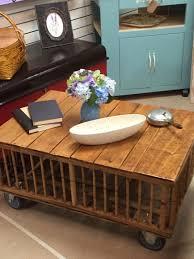 great rustic chicken crate coffee table trap door underneath so