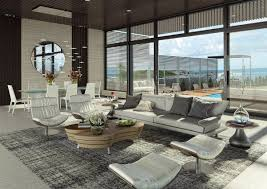 Living Room  Spaces Interactive Implemented Beautiful Accessories - Urban living room design