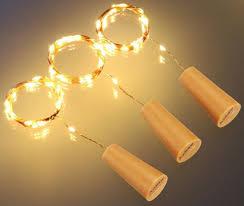 copper wire led lights china 10 20 leds wine bottle cork lights copper string lights for