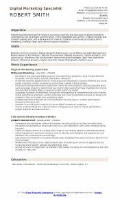 Resume Headline For Marketing Marketing Resume Samples Examples And Tips