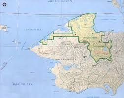 Alaska Map Images by Park Map Of Bering Land Bridge National Preserve Alaska United