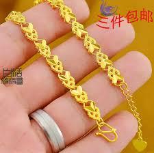 girl gold bracelet images 2018 small goldfish gold bracelet female models ethnic gold jpg
