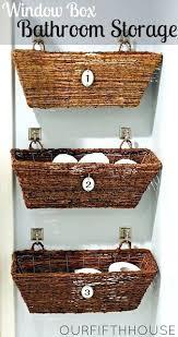 Bathroom Baskets For Storage Baskets For Bathroom Shelves Bathroom Shelves With A Bathroom