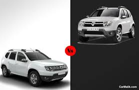 old renault renault duster old vs new worthy changes car malik