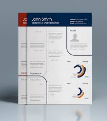 free infographic free infographic resume template indesign