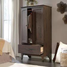 Storage Armoire Cabinet Wardrobe Armoire Storage Closet Cabinet Bedroom Furniture Wood
