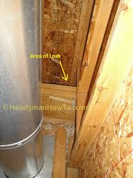 how to repair a leaky chimney part 1
