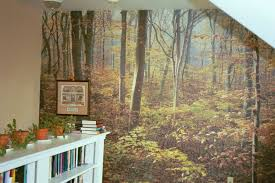 Forest Mural by Reflexionsfaux Com Custom Paintings And Wall Coverings