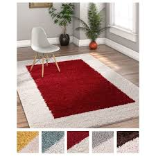 Solid Color Area Rug Well Woven Modern Solid Color Border Olefin And Jute Rectangular